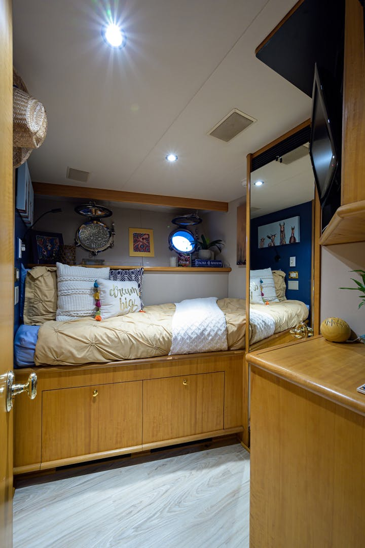 2003 Cheoy Lee 125' Enclosed Pilothouse NICOLE EVELYN | Picture 5 of 55