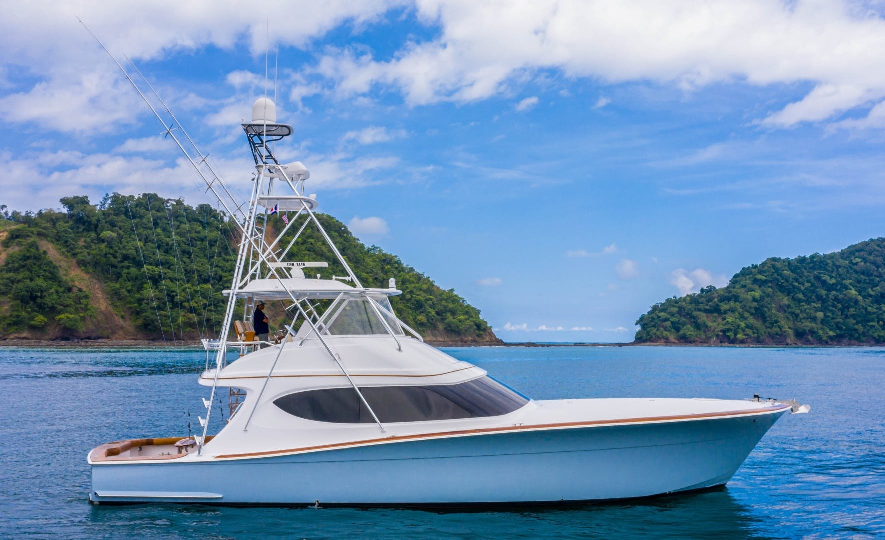 2012 Hatteras 63' 63 GT Fish Tank | Picture 1 of 110
