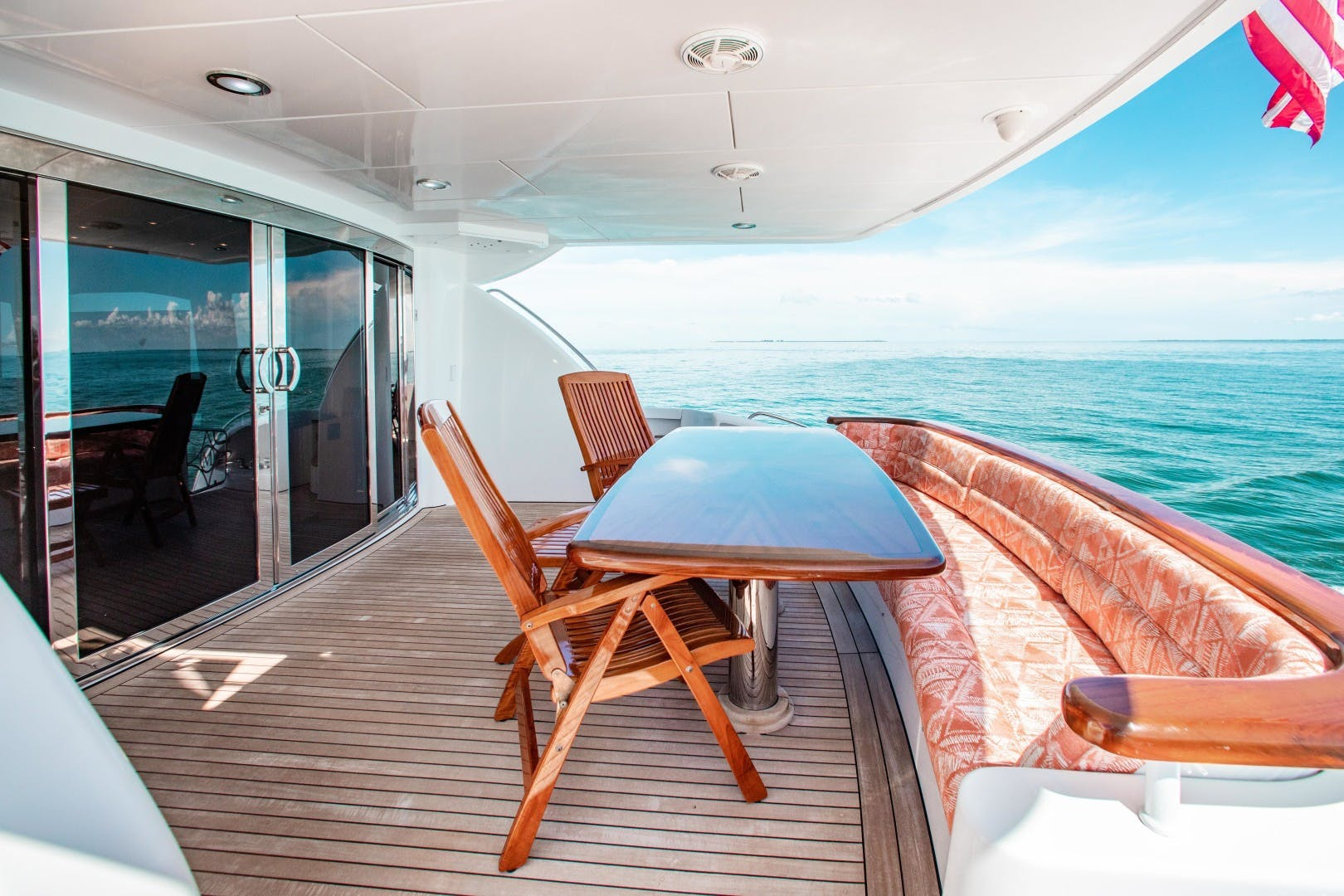 2008 Hatteras 80' 80 Motor Yacht Galati Yacht Sales Trade   Picture 4 of 67