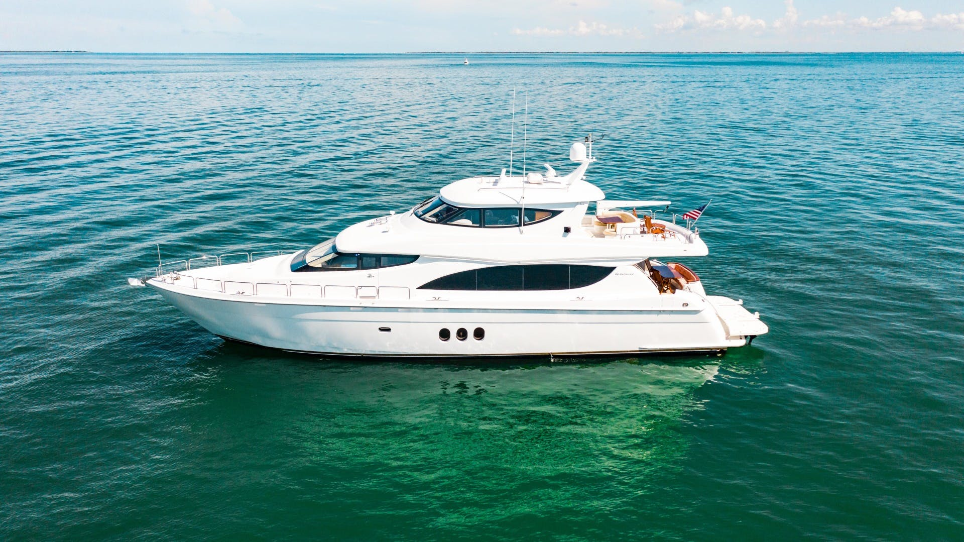 2008 Hatteras 80' 80 Motor Yacht Galati Yacht Sales Trade   Picture 5 of 67