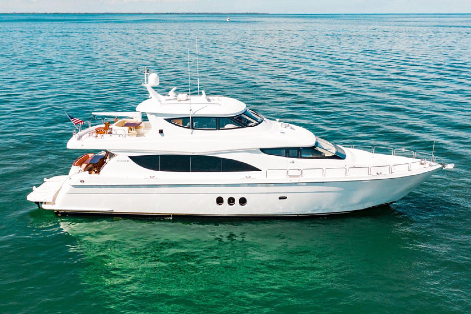 "2008 Hatteras 80' 80 Motor Yacht ""Galati Yacht Sales Trade"""