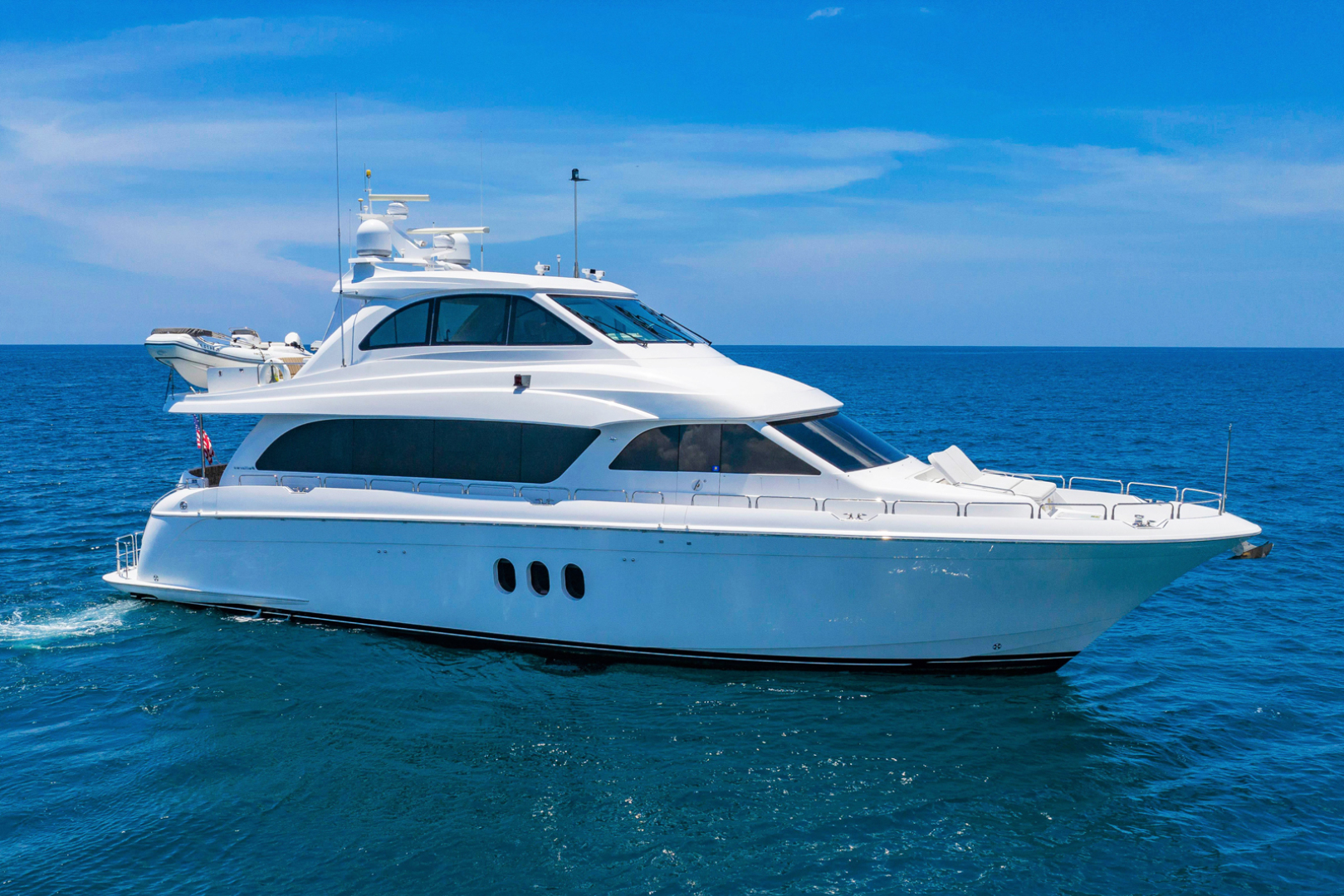 "2009 Hatteras 72' Enclosed Bridge, 4 stateroom, CATS ""PANACEA"""