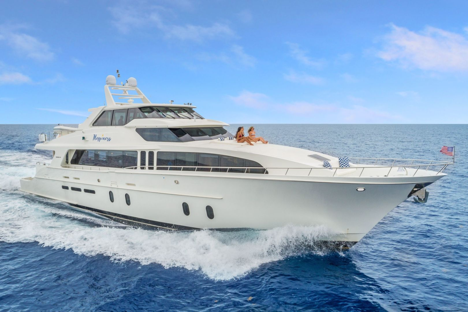 "2007 Cheoy Lee 100' Cockpit Motor Yacht  ""Happiness"""