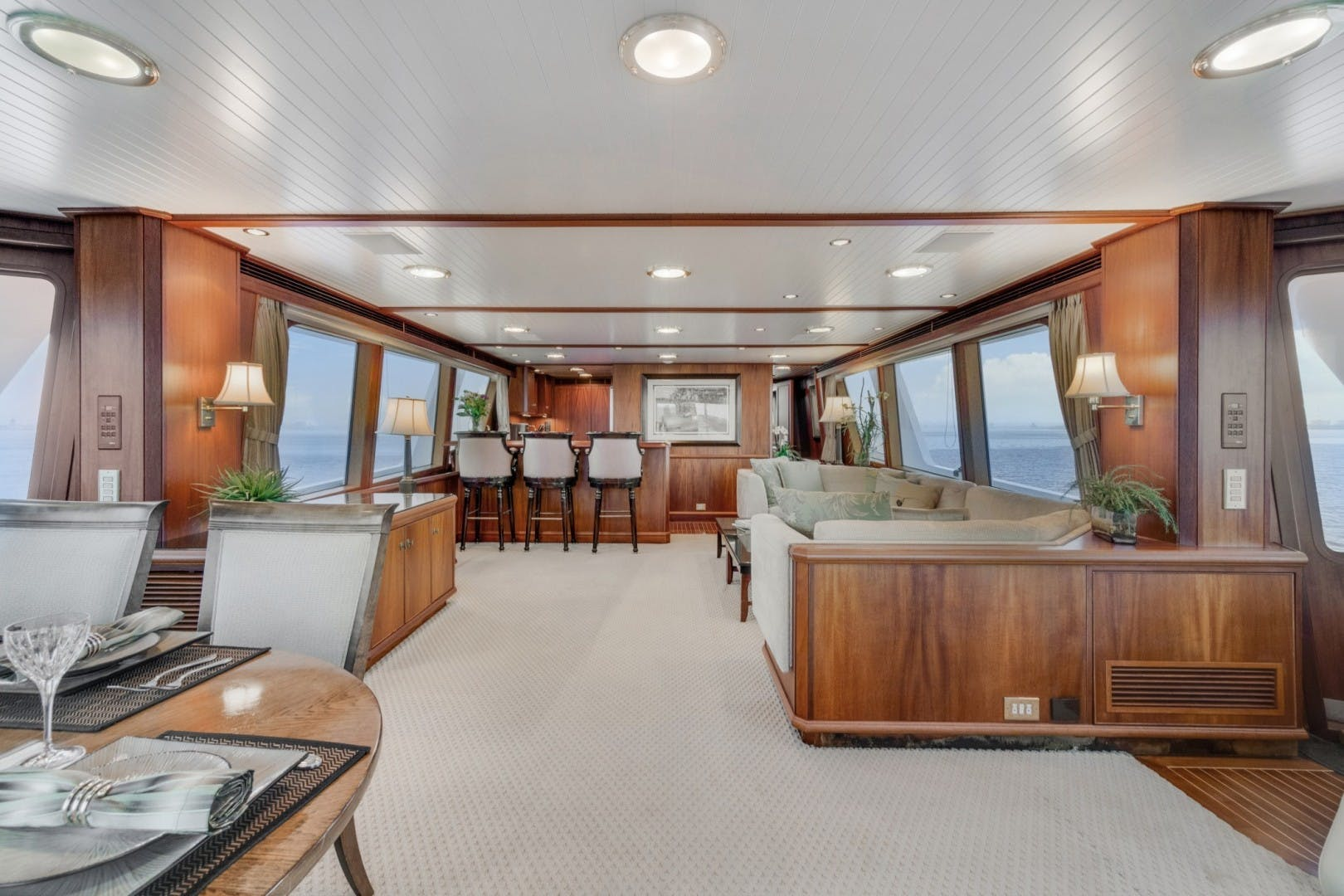 1999 Palmer Johnson 90' Pilothouse  Nirvana | Picture 2 of 70