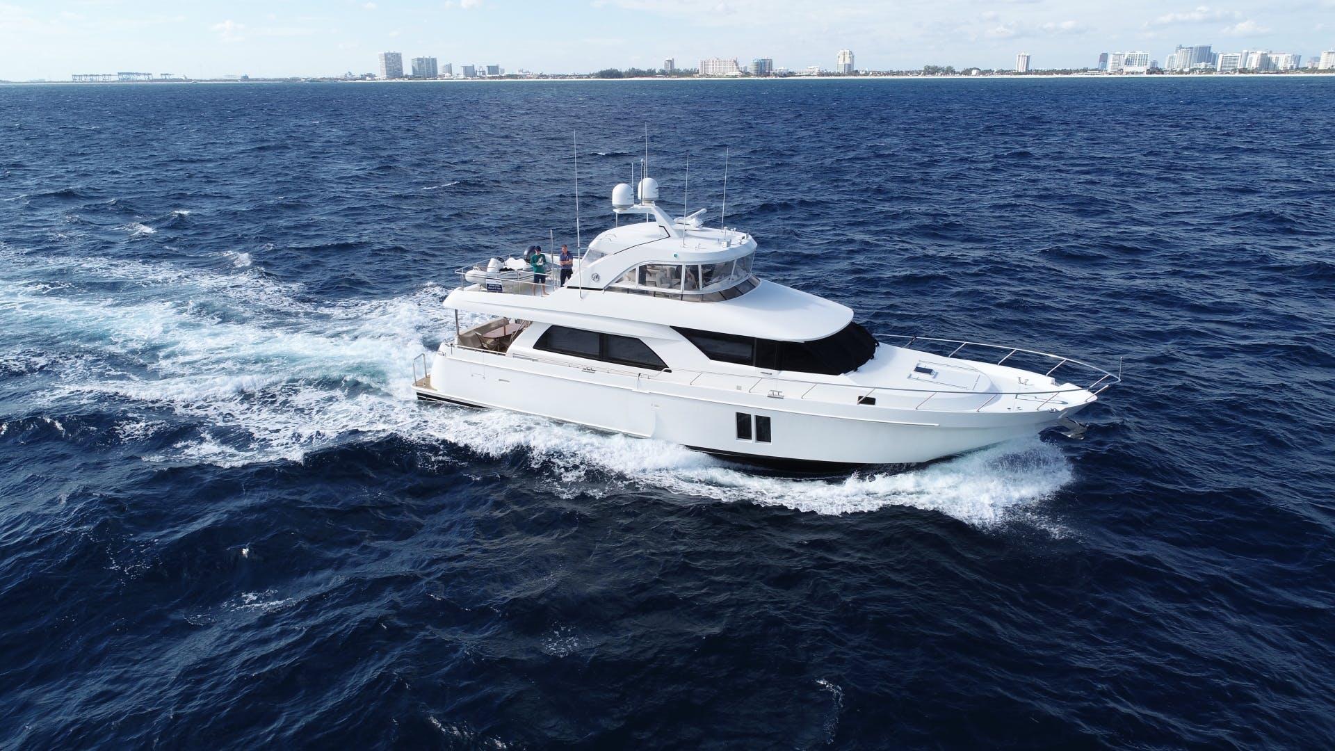 2016 Ocean Alexander 72' Motor yacht flybridge Journey | Picture 1 of 57