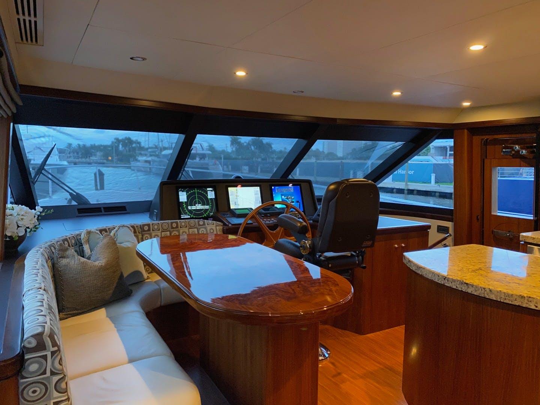 2016 Ocean Alexander 72' Motor yacht flybridge Journey | Picture 7 of 57