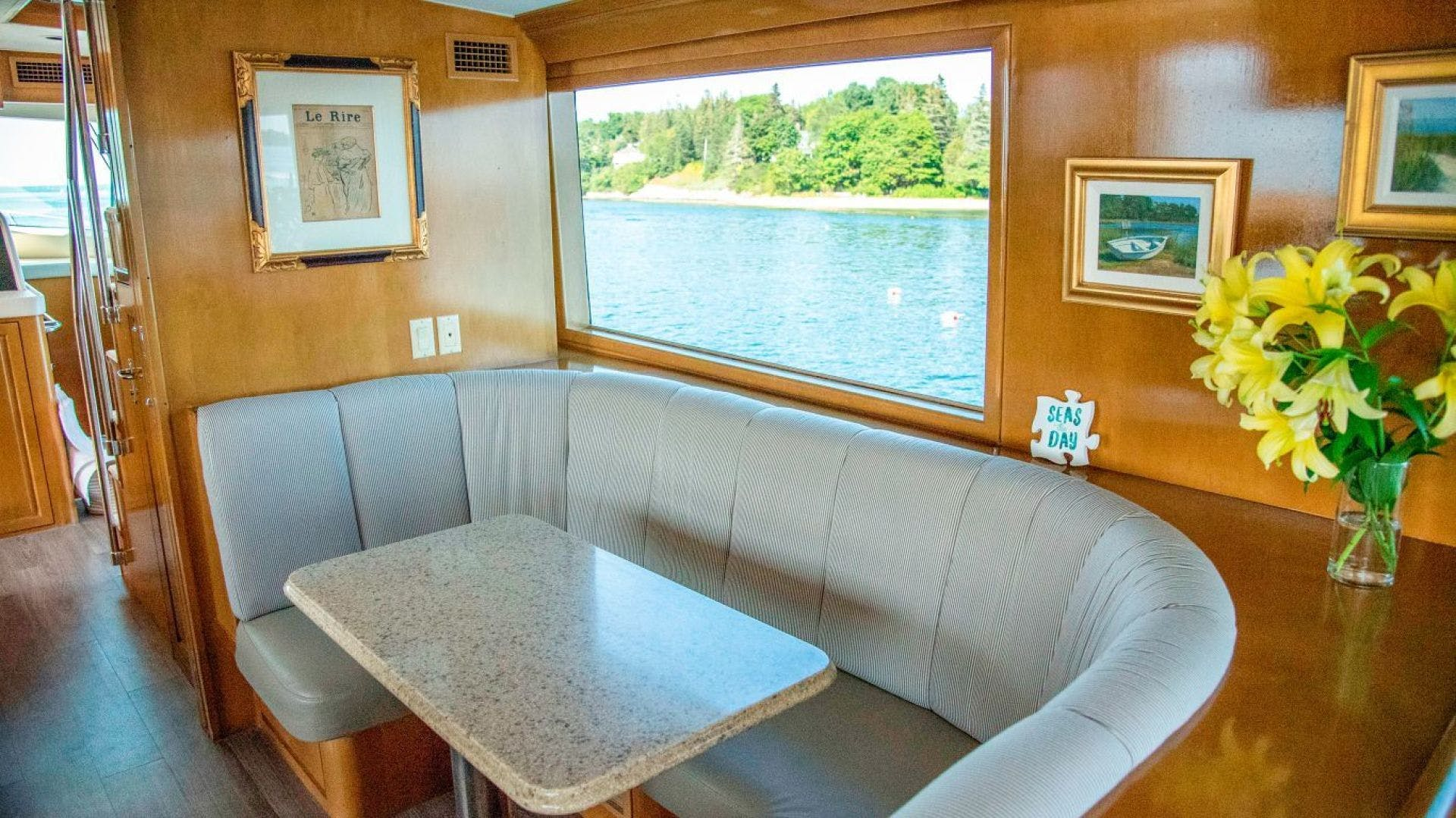 1998 Hatteras 74' Motor Yacht Almost There  | Picture 7 of 53