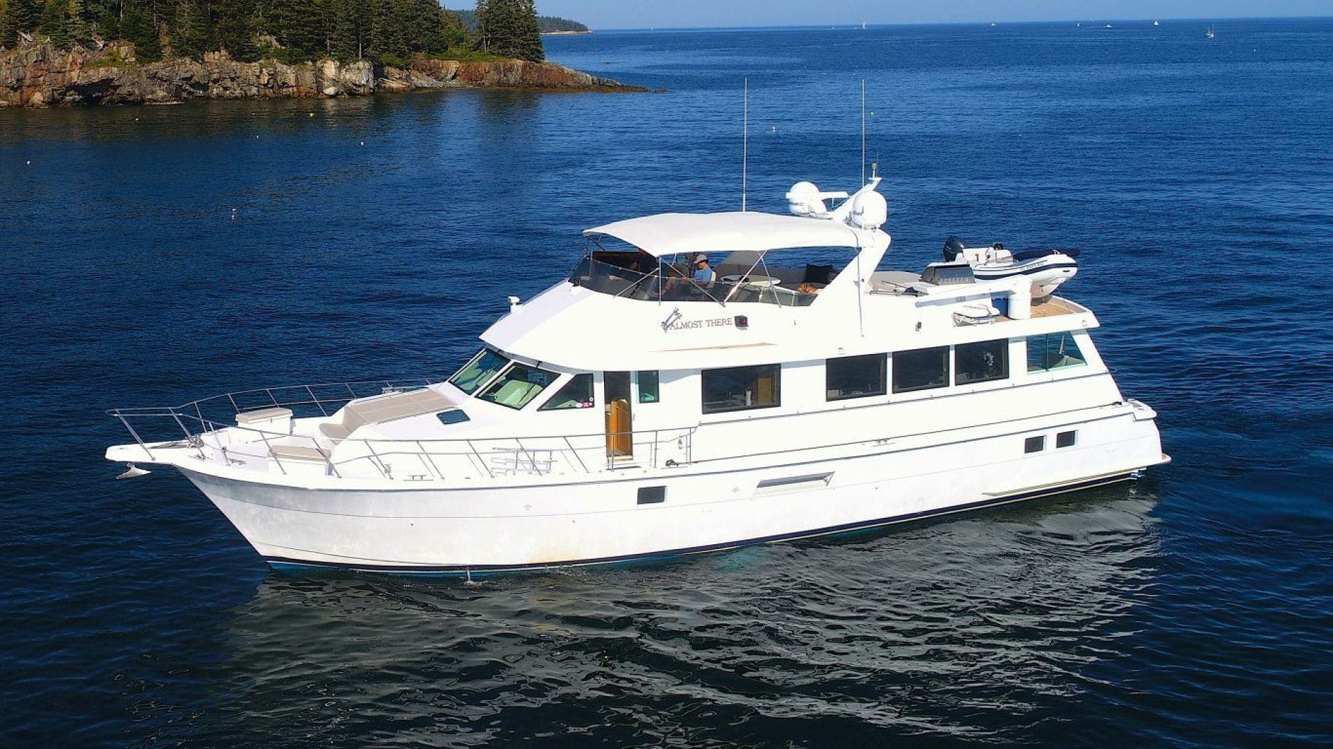 1998 Hatteras 74' Motor Yacht Almost There  | Picture 2 of 53