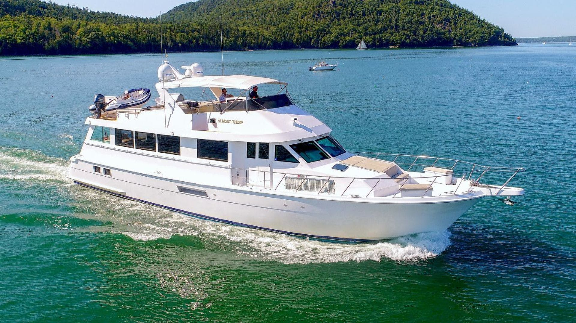 1998 Hatteras 74' Motor Yacht Almost There  | Picture 1 of 53