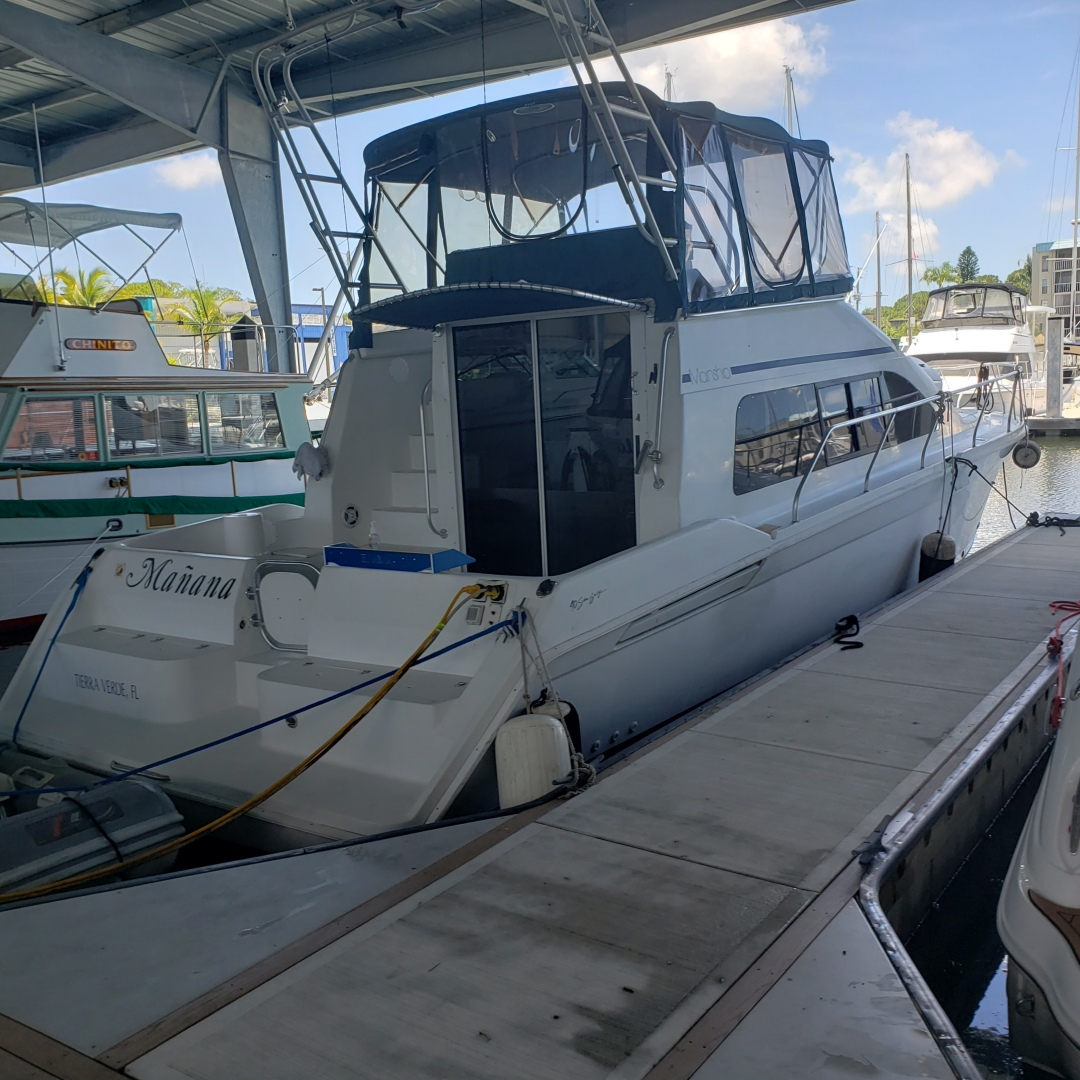 40' Mainship 1997 Sedan Bridge Manana