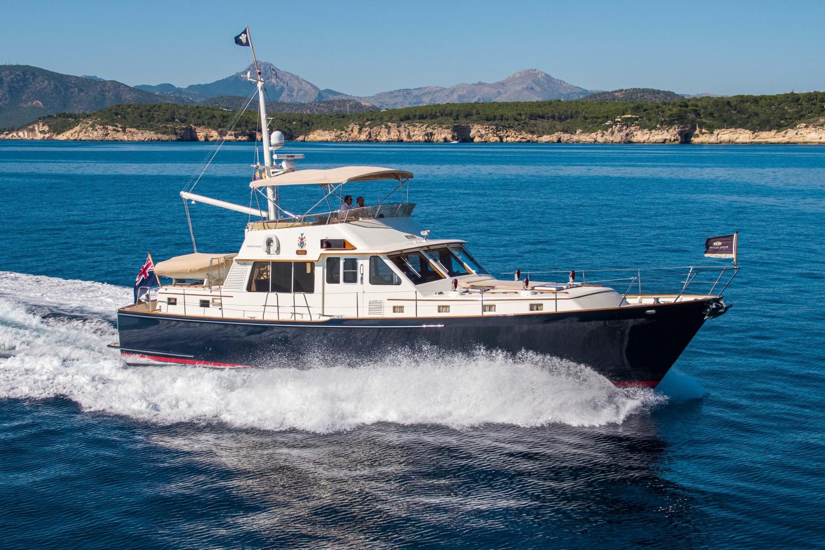 """1995 Royal Huisman 65' Long-Range Cruiser """"HUSH"""""""
