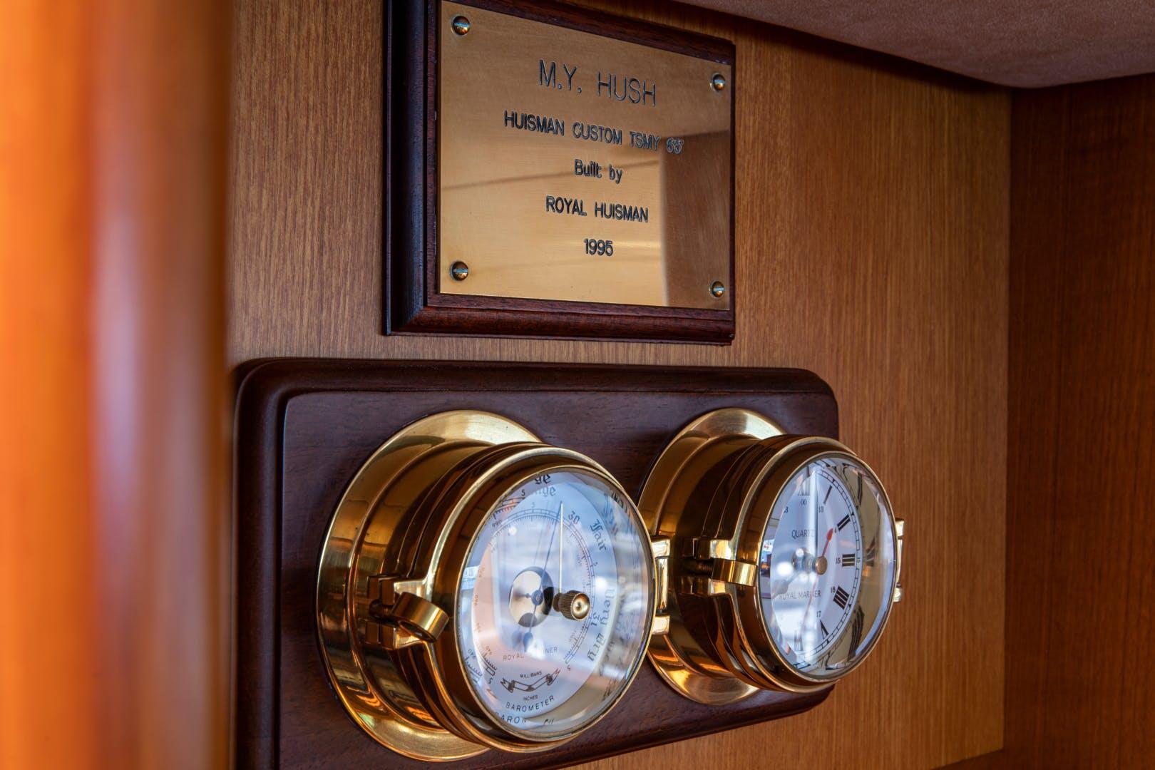 1995 Royal Huisman 65' Long-Range Cruiser HUSH | Picture 6 of 47