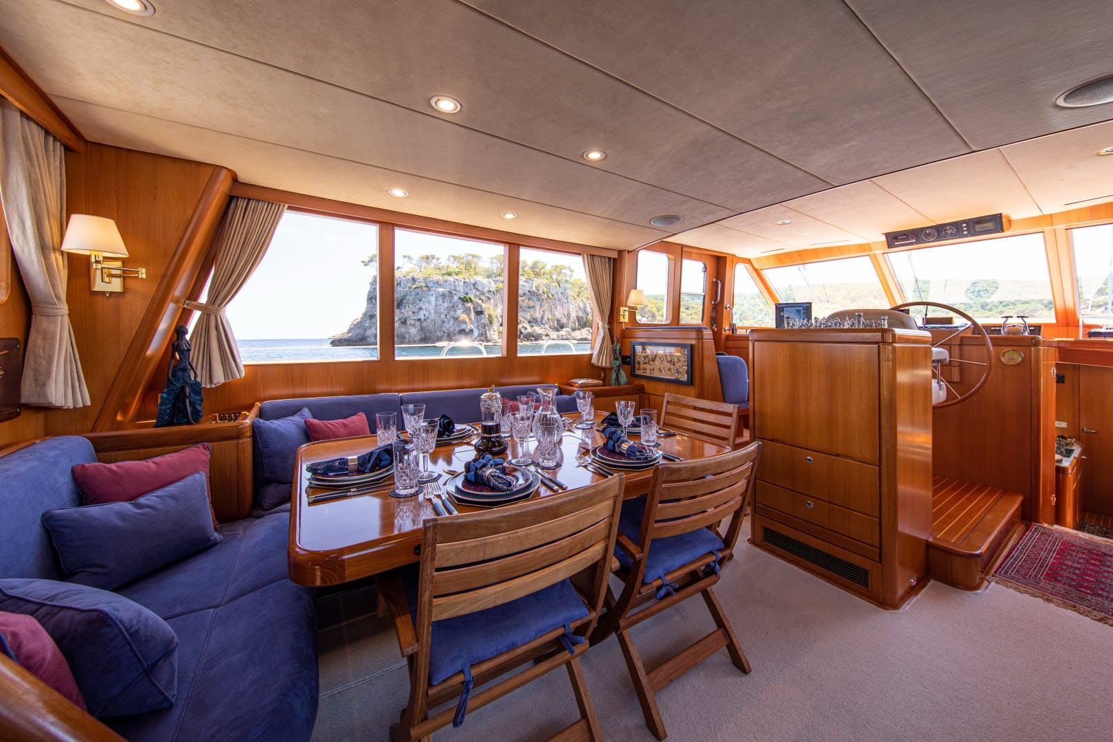 1995 Royal Huisman 65' Long-Range Cruiser HUSH | Picture 3 of 47