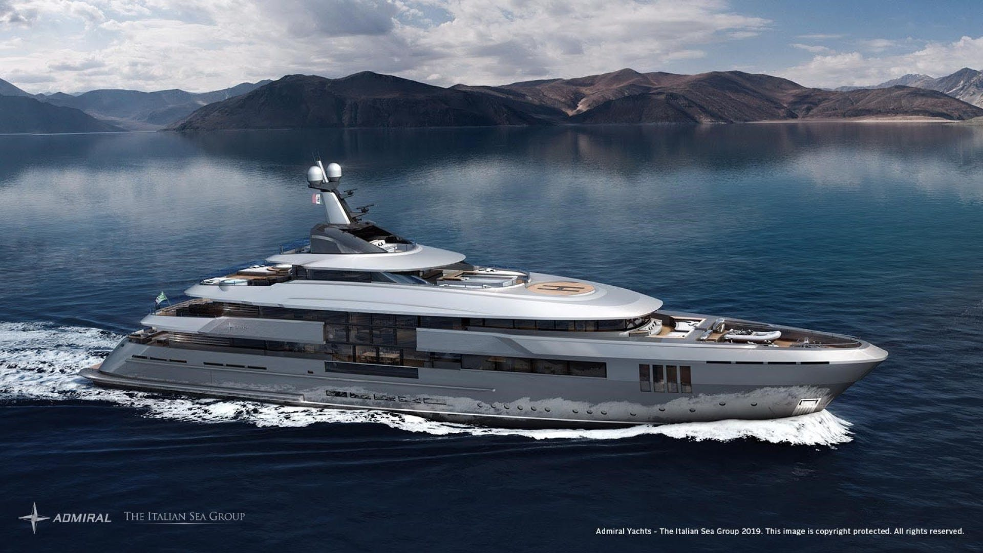 2023 Admiral 213'  ADMIRAL 65M U FORCE | Picture 1 of 7