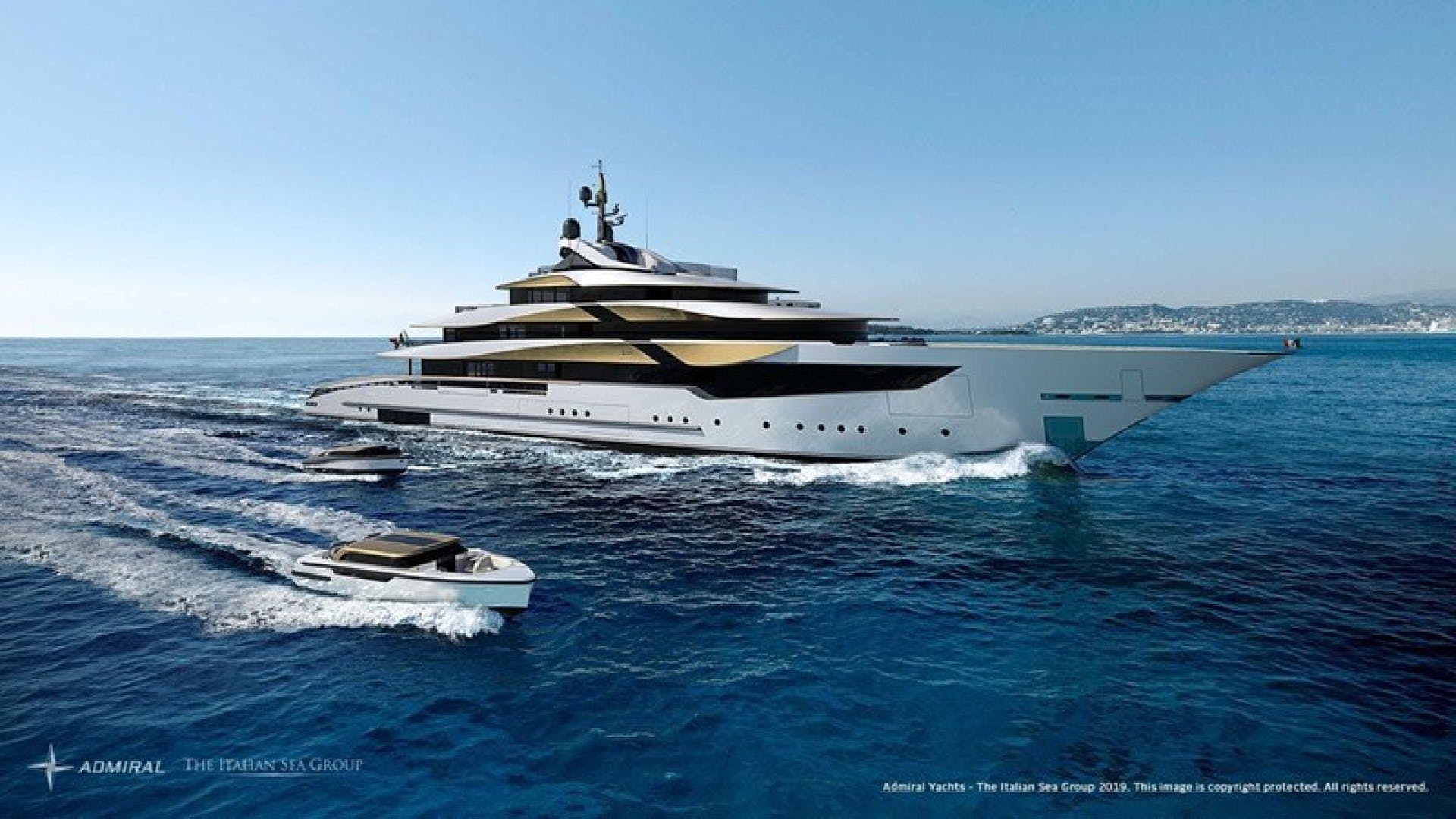 2023 Admiral 230' Galileo 70  | Picture 1 of 13