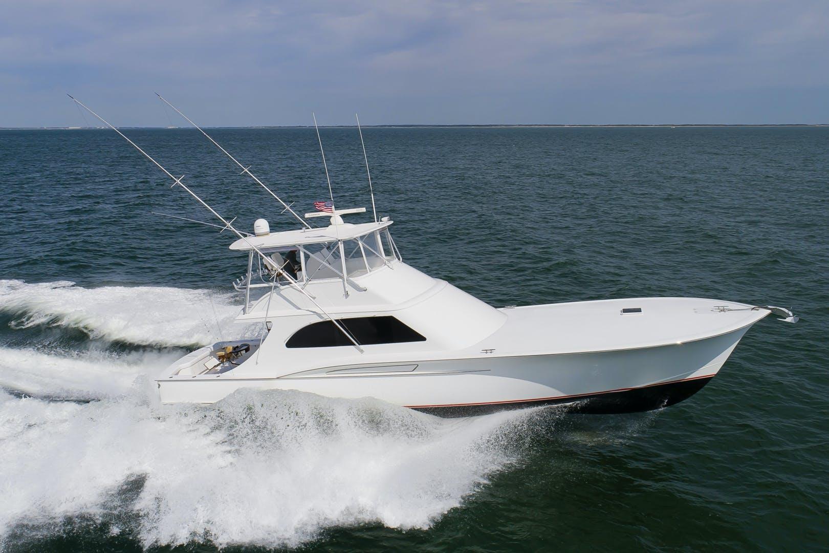 2017 Custom Carolina 61' 61 Jamie Chadwick Sportfish Convertible Donna Mae | Picture 4 of 73