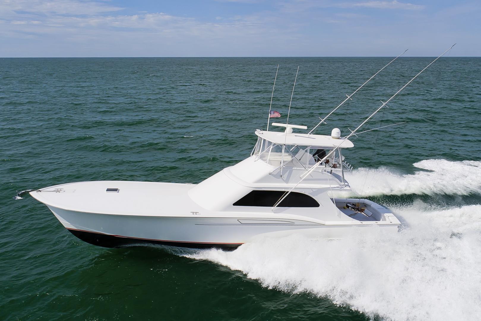 "2017 Custom Carolina 61' 61 Jamie Chadwick Sportfish Convertible ""Donna Mae"""