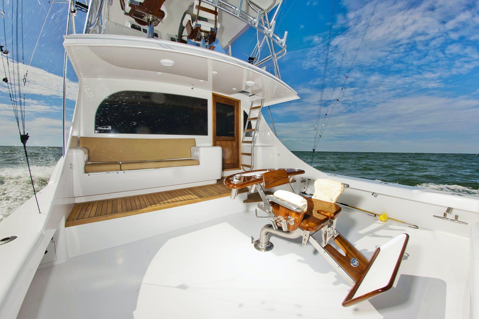 2017 Custom Carolina 61' 61 Jamie Chadwick Sportfish Convertible Donna Mae | Picture 3 of 73