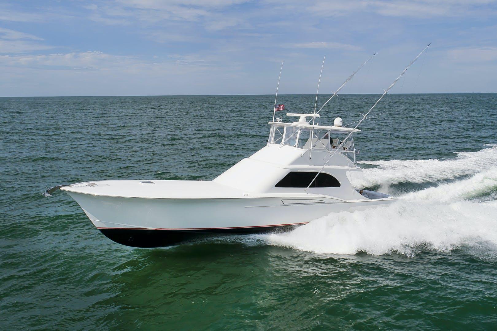 2017 Custom Carolina 61' 61 Jamie Chadwick Sportfish Convertible Donna Mae | Picture 7 of 73