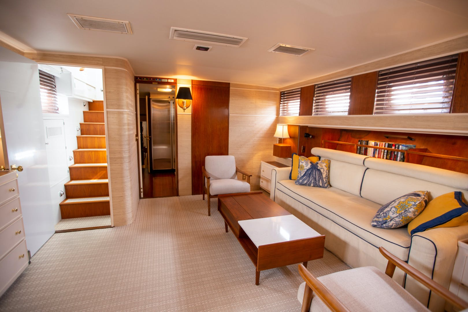 1982 Huckins 78' Motor Yacht Sea Bound | Picture 7 of 76