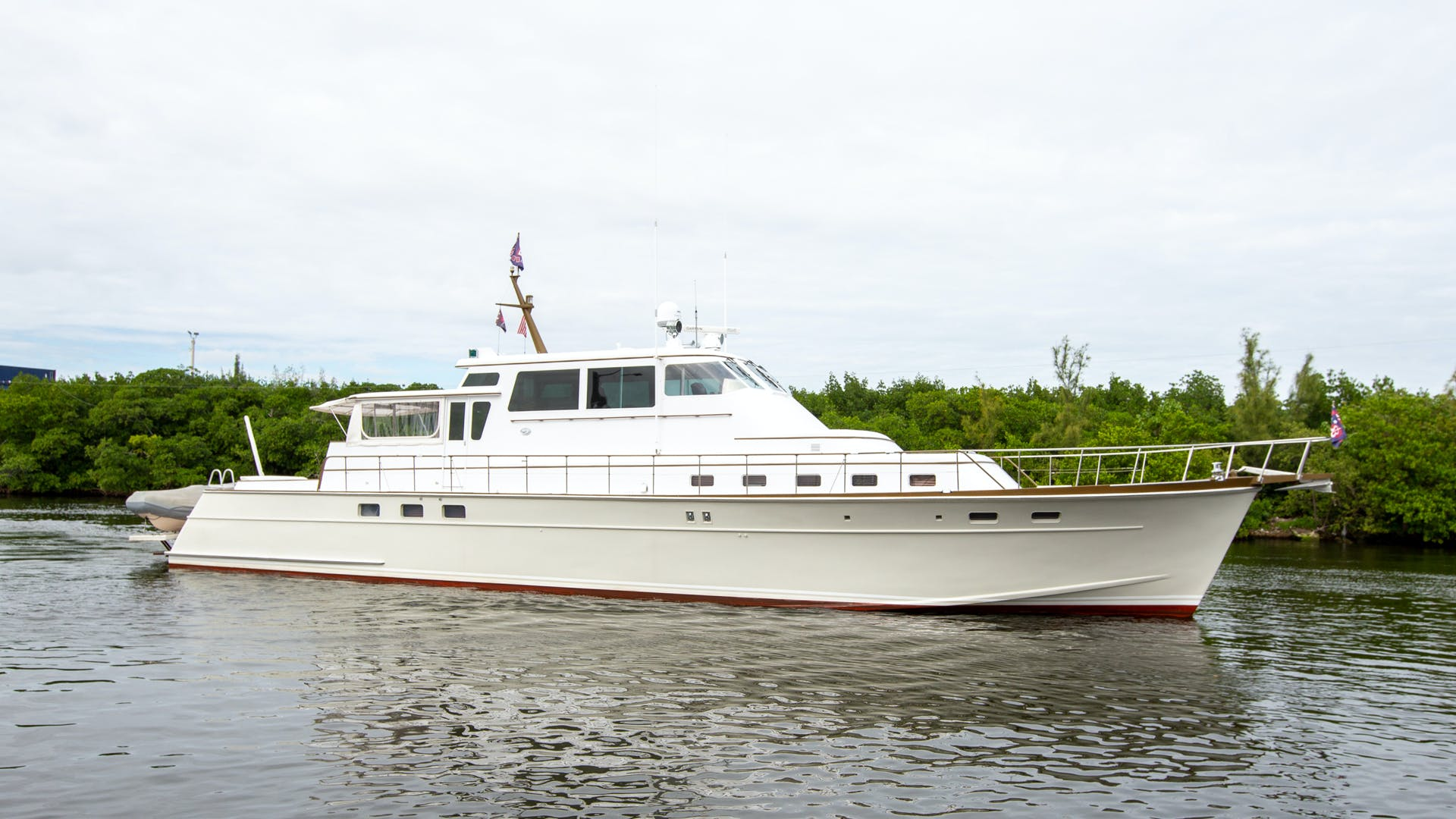 1982 Huckins 78' Motor Yacht Sea Bound | Picture 1 of 76