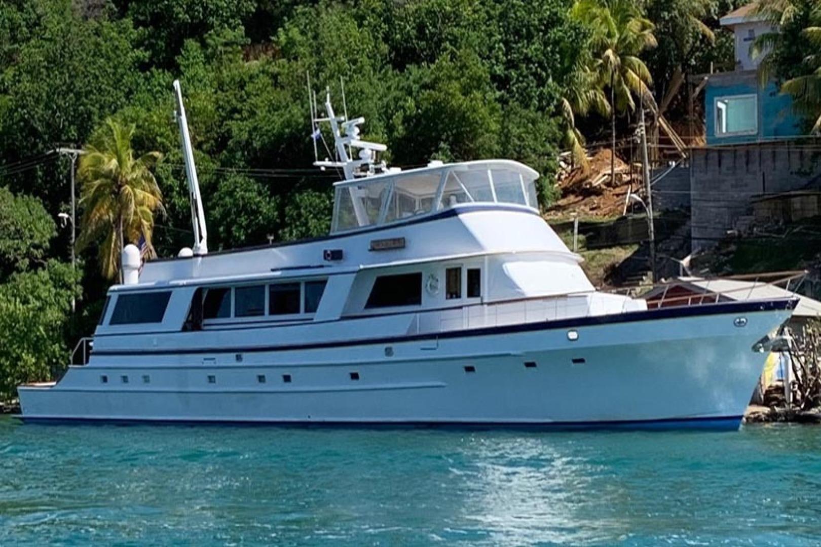 102' Palmer Johnson 1980 102 Cockpit Motor Yacht Banyan