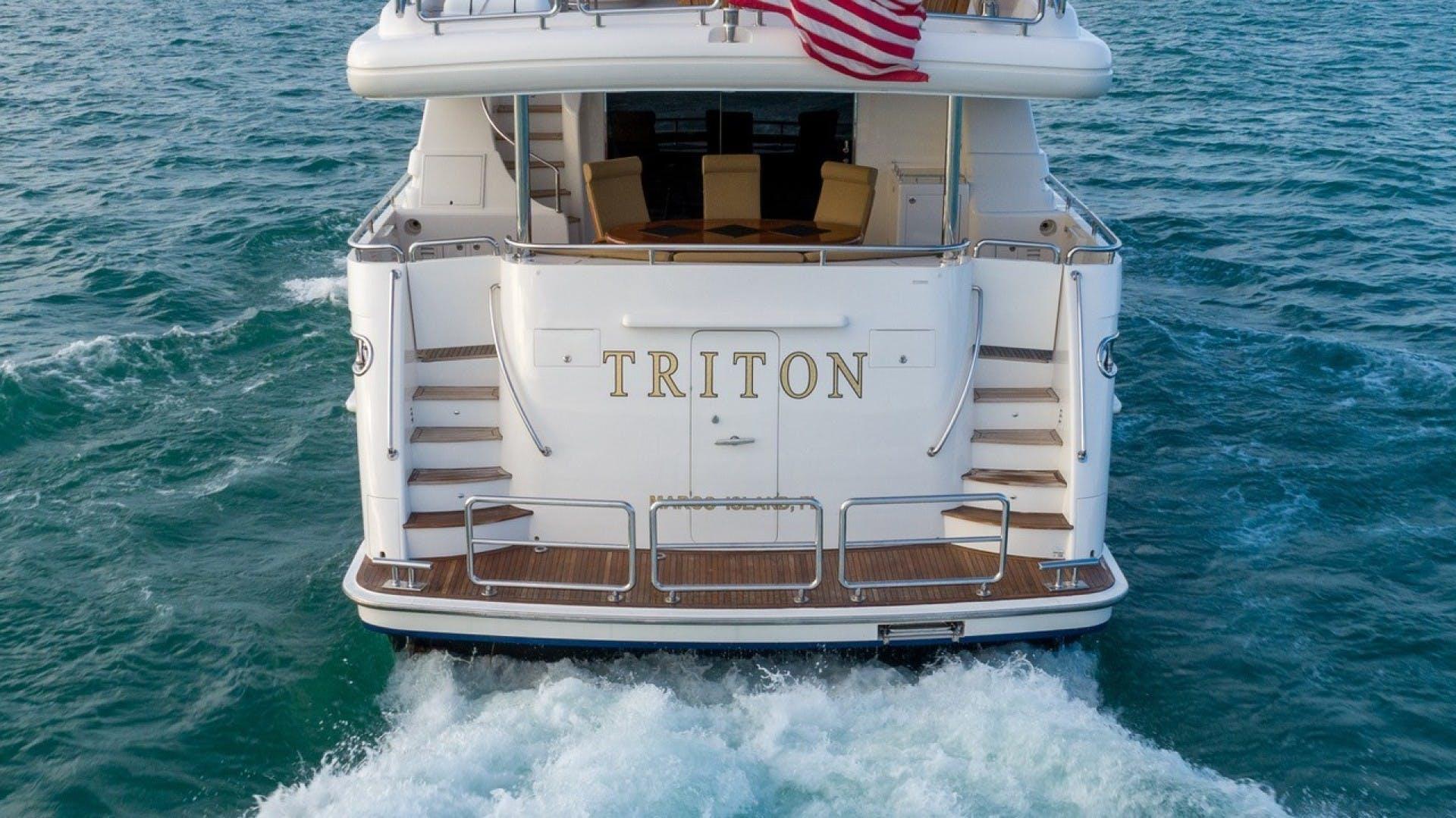 2007 Horizon 95' Raised Pilothouse TRITON | Picture 8 of 66