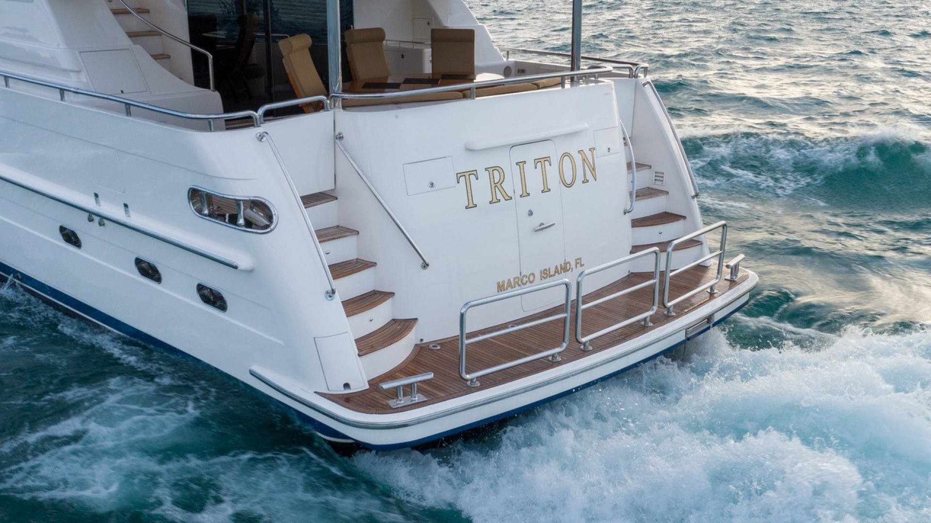 2007 Horizon 95' Raised Pilothouse TRITON | Picture 7 of 66