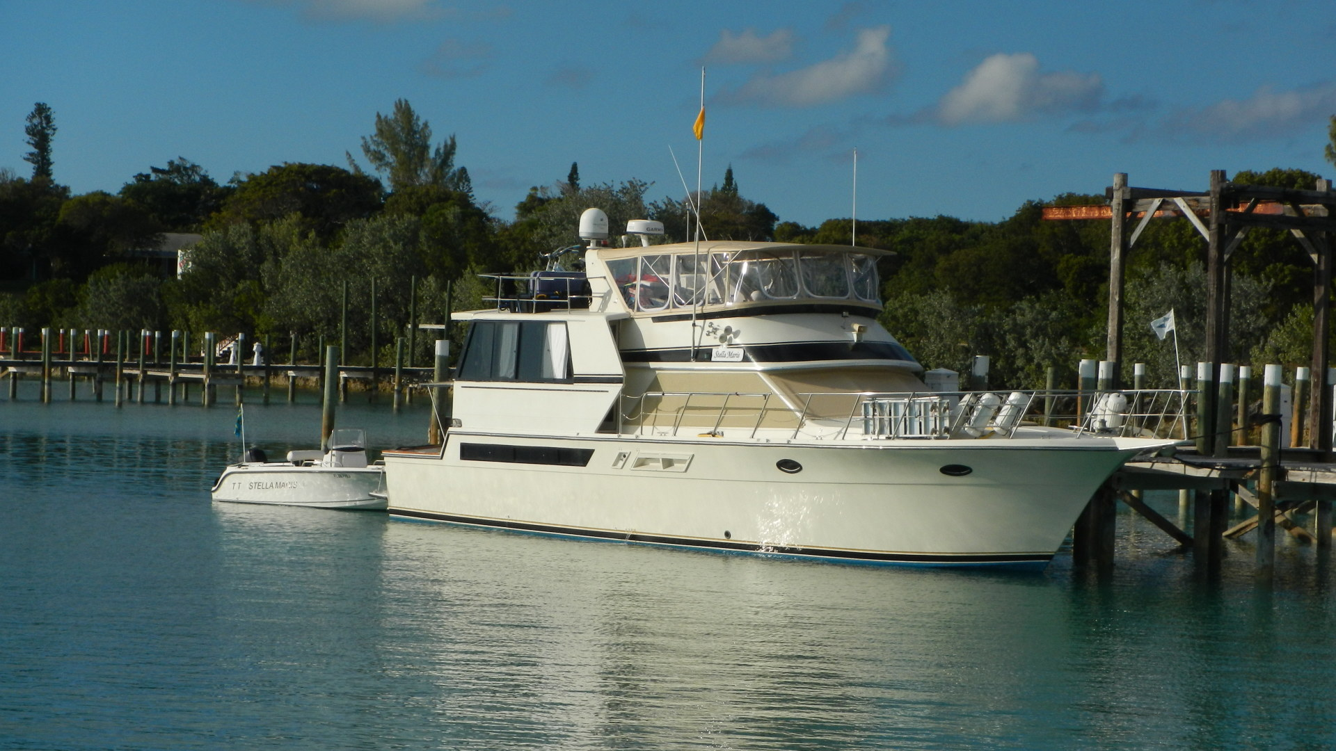 55' Californian 1989 Cockpit Motor Yacht Stella Maris
