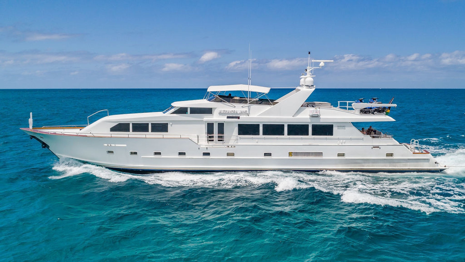 "1995 Broward 110' RPH ""Alexandra Jane"""