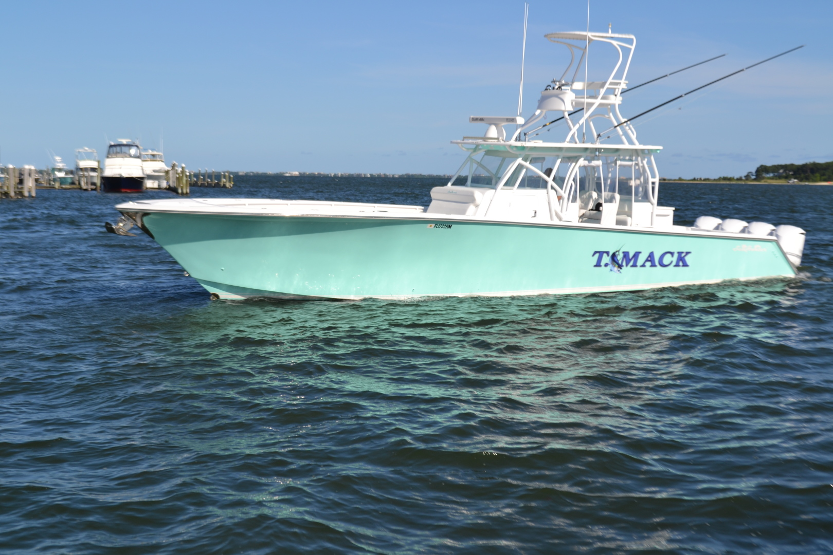 45' SeaHunter 2018 Center Console T Mack