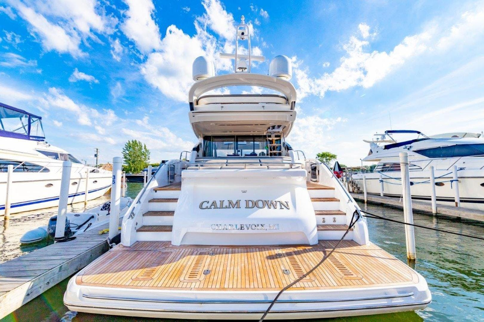 2017 Princess 65' S65 Calm Down | Picture 2 of 53