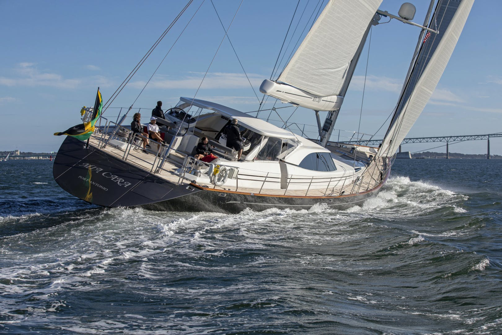 2006 Fitzroy Yachts 127'  MIA CARA | Picture 4 of 27