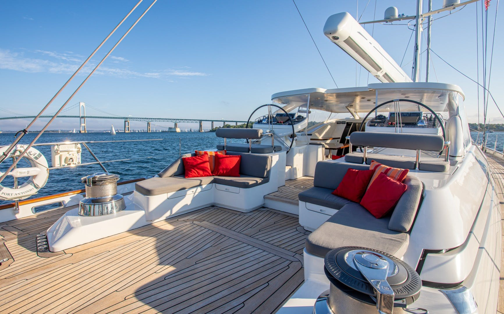 2006 Fitzroy Yachts 127'  MIA CARA | Picture 3 of 27