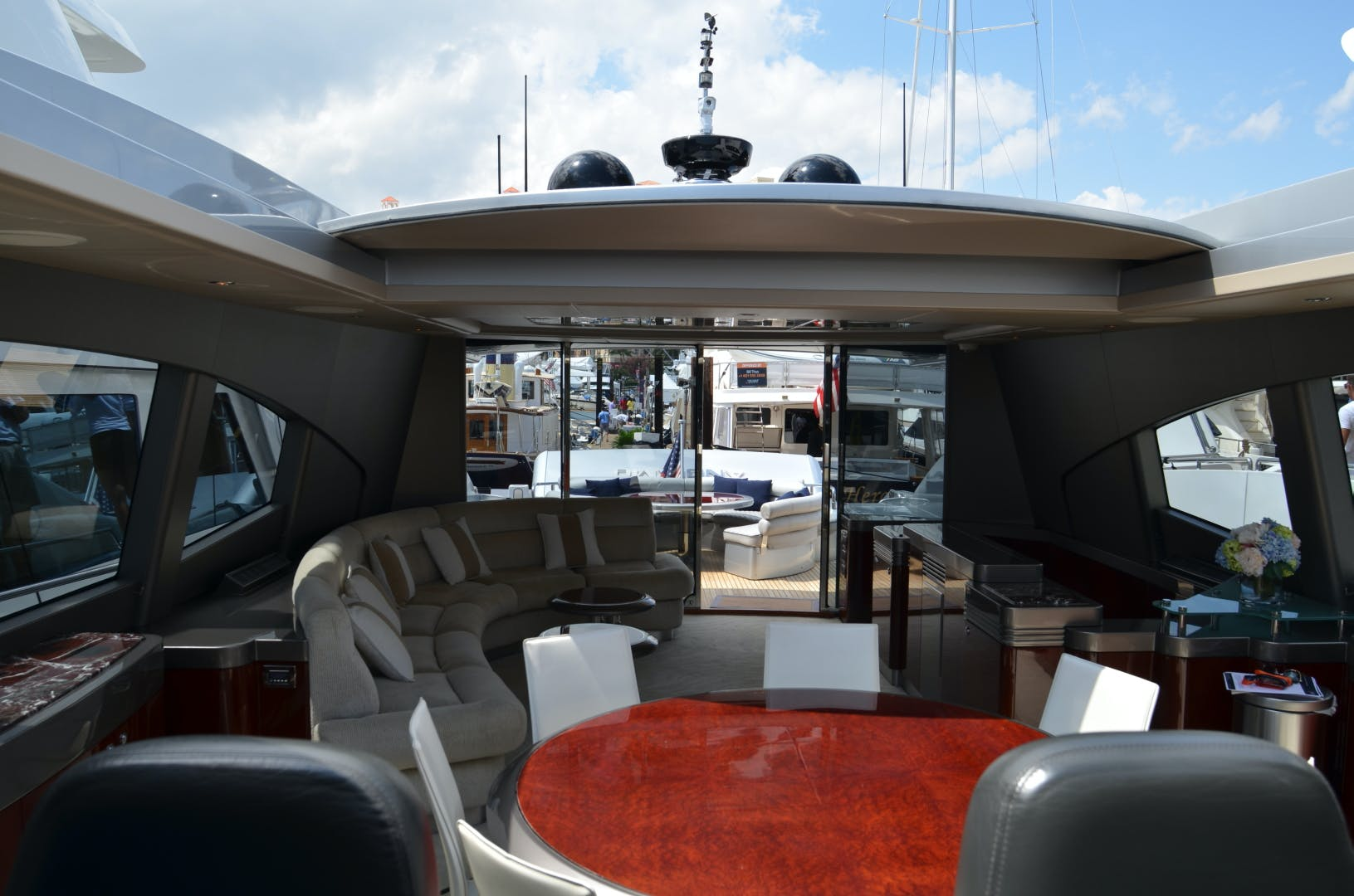 2007 Warren Yachts 87' Express Cruiser ANDIAMO | Picture 5 of 22