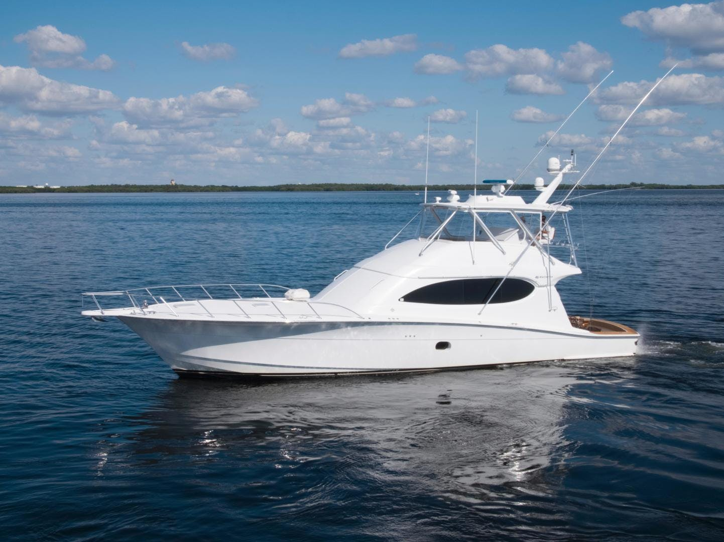 2006 Hatteras 64' Convertible ON TARGET | Picture 1 of 114