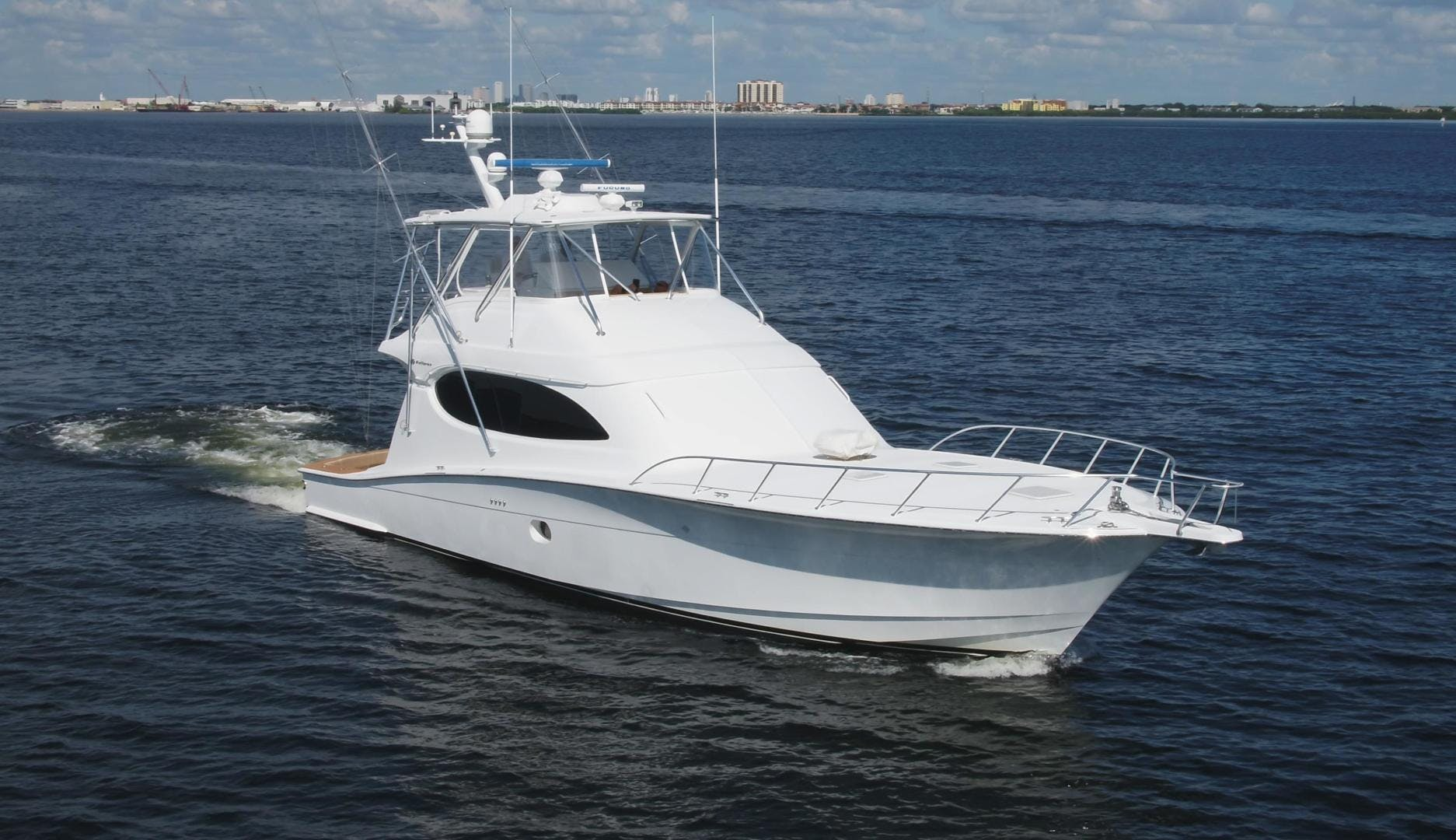 2006 Hatteras 64' Convertible ON TARGET | Picture 4 of 114
