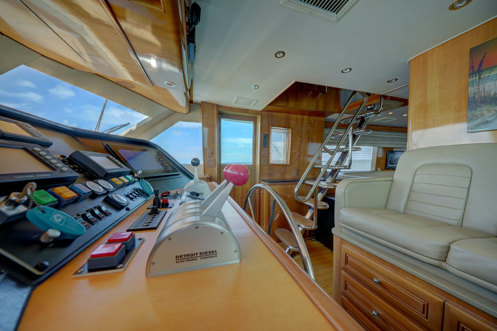1999 Hatteras 74' 74 Sport Deck Motor  Yacht TRIX SEA | Picture 1 of 56
