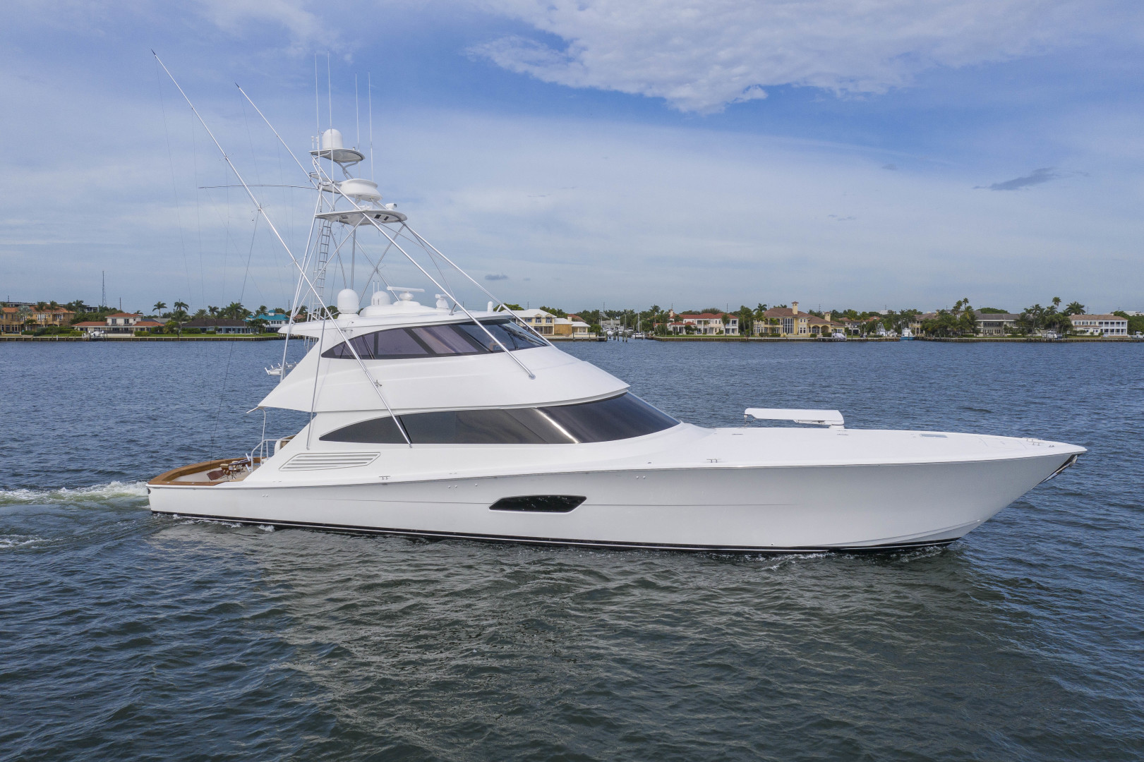 "2016 Viking 92' Enclosed Bridge Sportfish ""Fa La Me"""