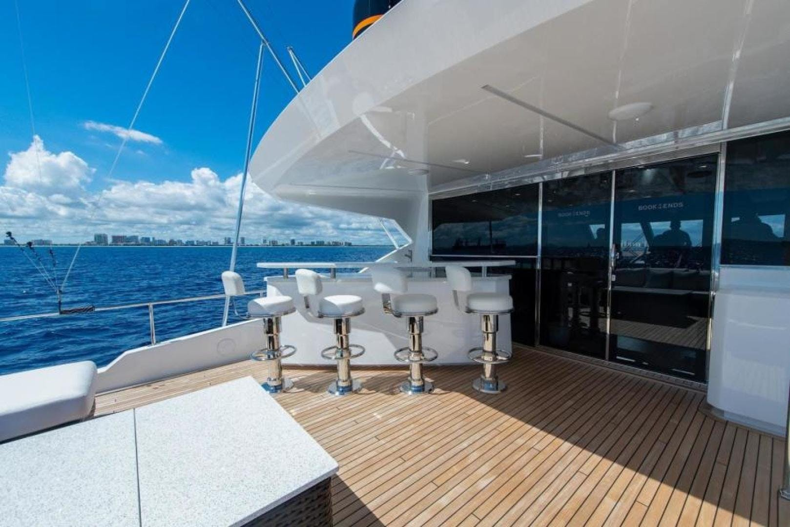 2018 Viking 93' Motoryacht Enclosed Flybridge BOOK ENDS   Picture 7 of 104