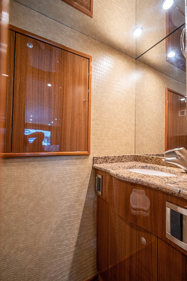 2007 Viking 74' 74 Enclosed Bridge  | Picture 2 of 48