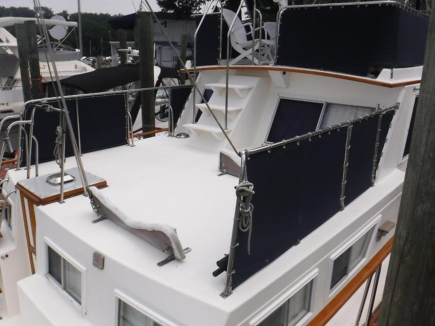 1988 Grand Banks 46' Classic No Regrets | Picture 7 of 51