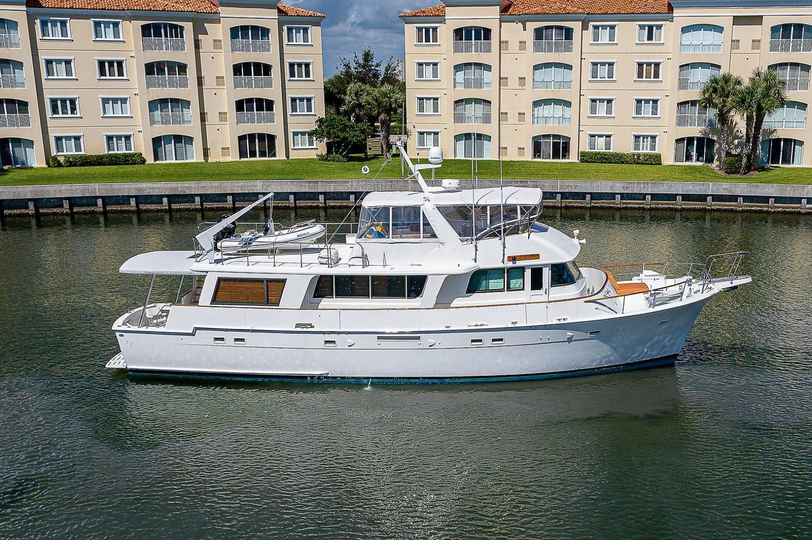 "1986 Hatteras 70' Long Range Cruiser ""Lady Lorraine"""