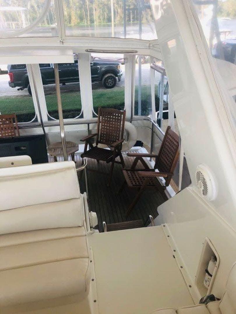 1995 Hatteras 42' Cockpit Motor Yacht EZ2NJOY   Picture 6 of 99