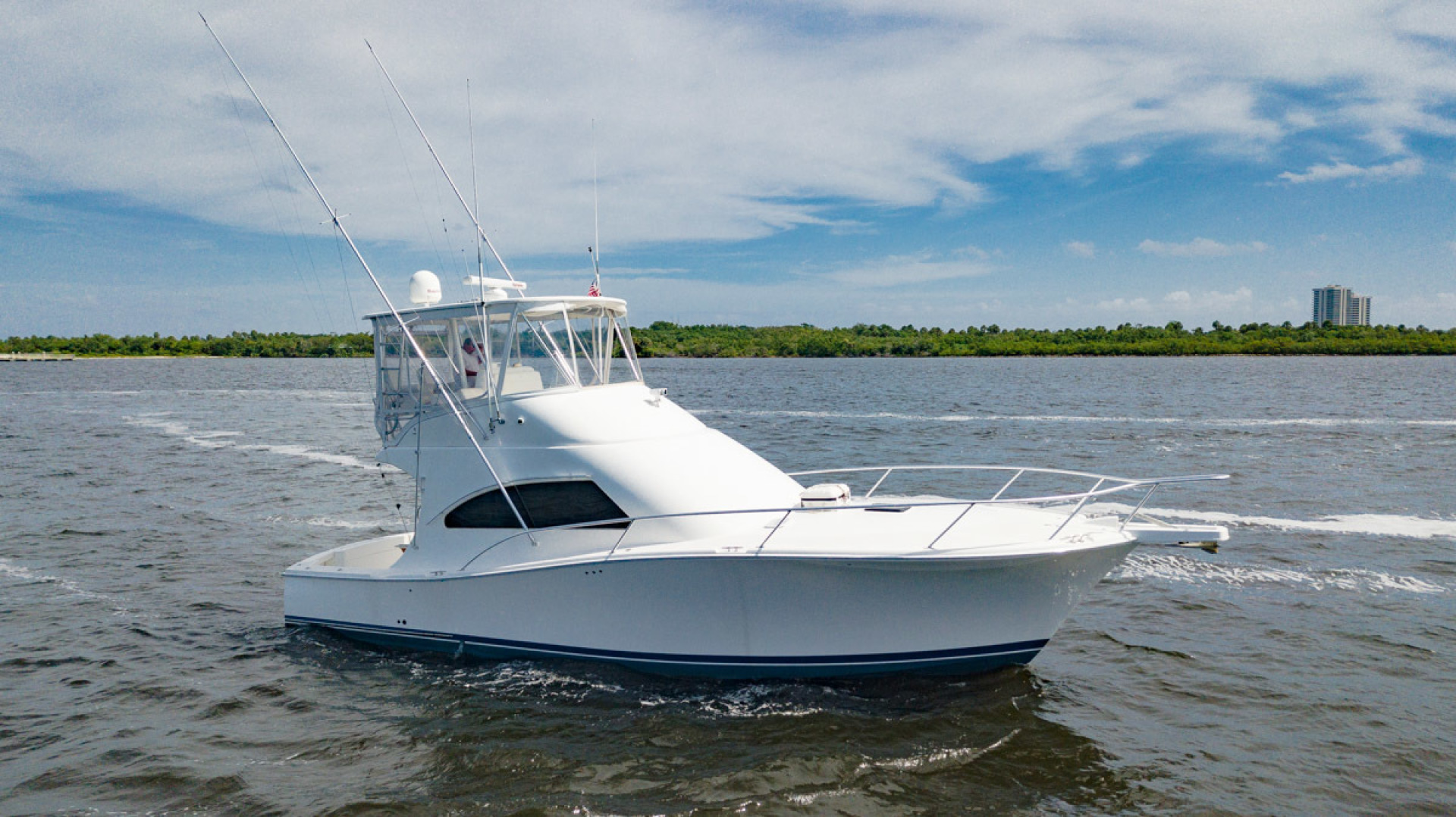 41' Luhrs 2007 Convertible Daddy Perks