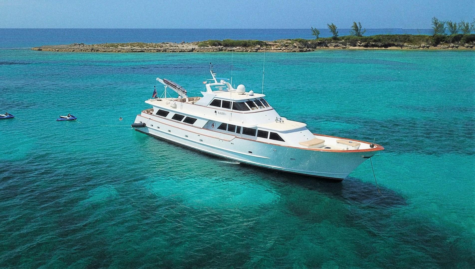 """1983 Broward 110' Motor Yacht 110 Pilothouse """"KALEEN"""""""