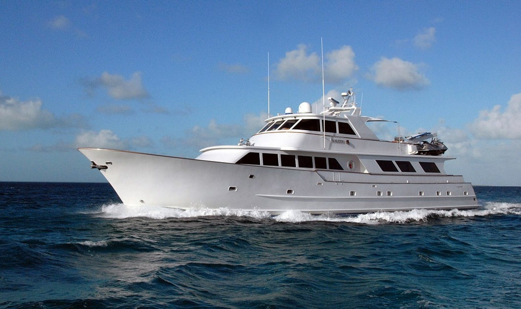 1983 Broward 110' Motor Yacht 110 Pilothouse KALEEN | Picture 1 of 25