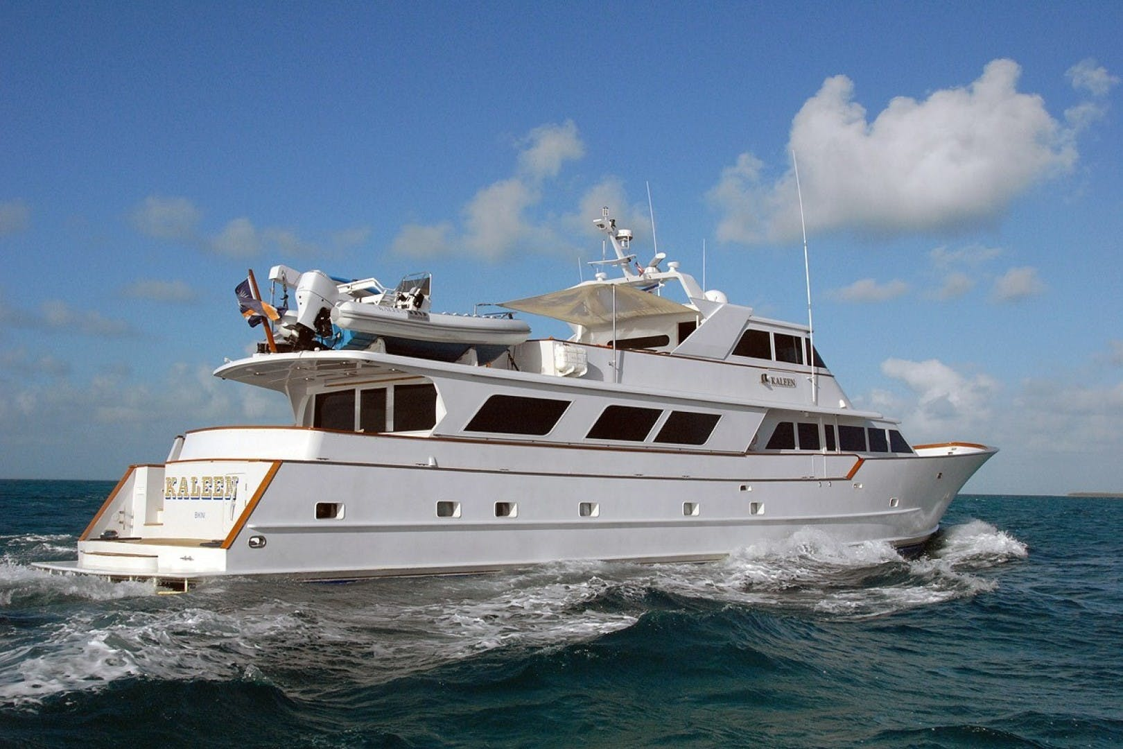 1983 Broward 110' Motor Yacht 110 Pilothouse KALEEN | Picture 2 of 25