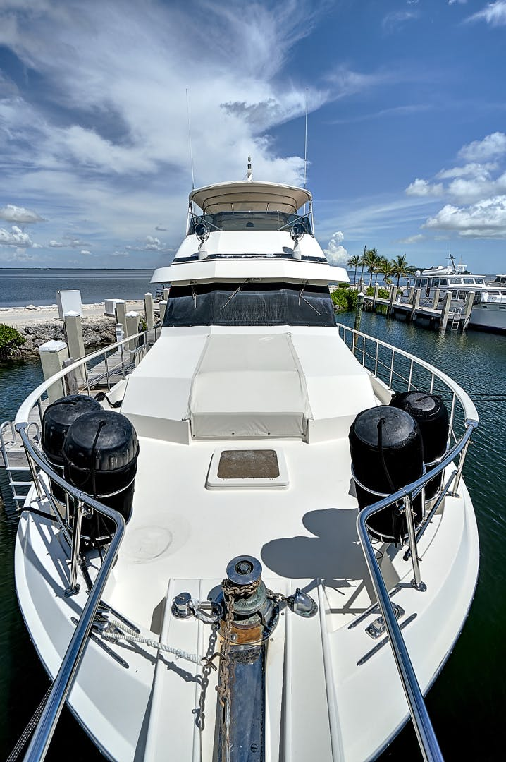 1988 Hatteras 70' 70 Motor Yacht TL Sea | Picture 5 of 53