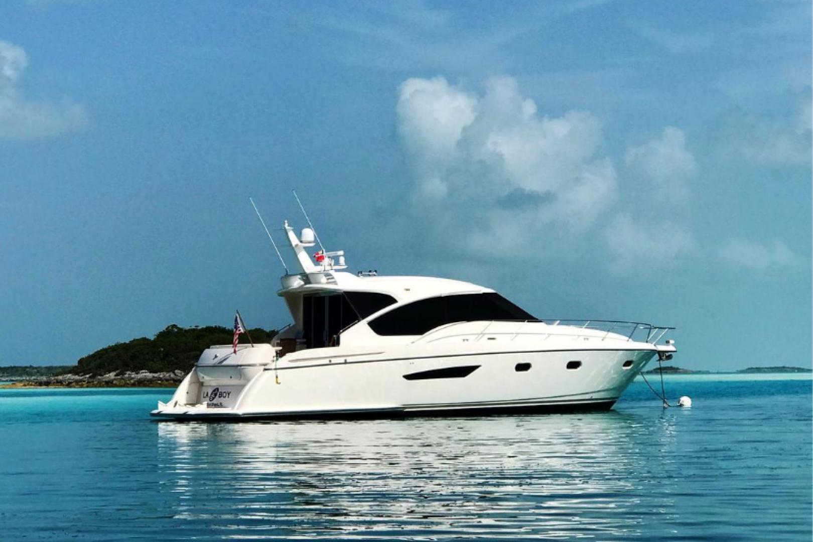 58' Tiara Yachts 2009 5800 Sovran Galati Yacht Sales Trade